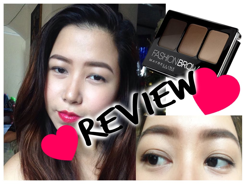 chi ke may Maybelline Fashion Brow