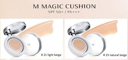 Review phấn nước Missha magic cushion SPF50+ PA+++